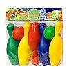 Кегли с мячами в пакете
